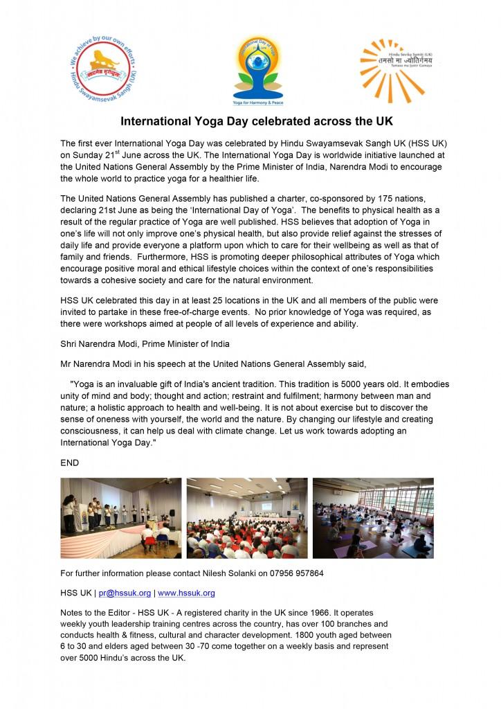 HSS-UK-IntYogaDay15-Press
